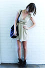 Yellow-vintage-dress-gold-diva-accessories-black-sportsgirl-accessories-bl