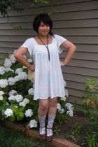 Urban Outfitters dress - vintage purse - thrifted tie - sockshop socks - payless