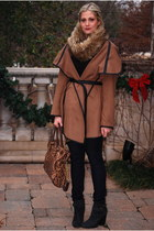 brown BB Dakota jacket - black Lucky Brand boots