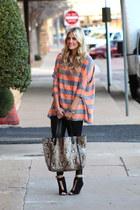 asos blouse - Danielle Nicole bag - Zara heels