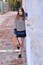 sweater - shoes - shirt - shorts - necklace - H&M ring