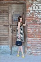 shoes - dress - bag - Zara necklace