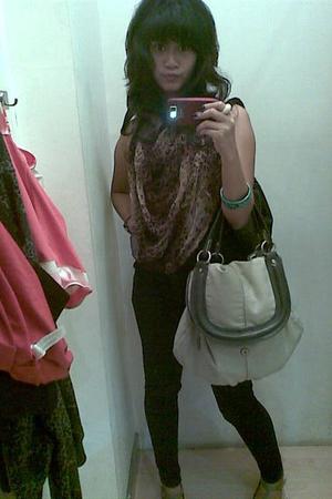 scarf - bracelet - wallet - jeans - shoes