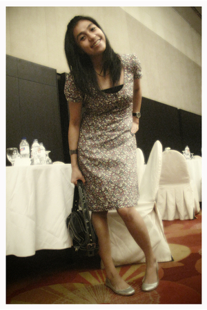 Mango accessories - Zara shoes - Esprit dress
