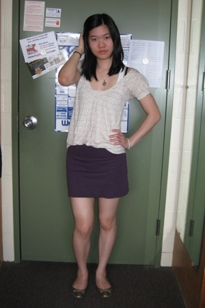 Jimmyz shirt - American Apparel skirt - Steve Madden shoes