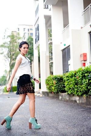 auburnginger skirt