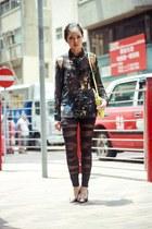 jovonna london shirt - Mango bag - OASAP heels