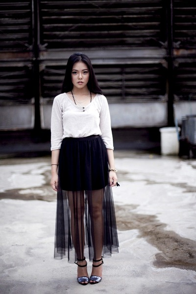Cloth Inc skirt - Zara dress