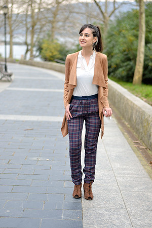 Simplemente Luna jacket - Mango pants - Primark t-shirt - Bershka heels