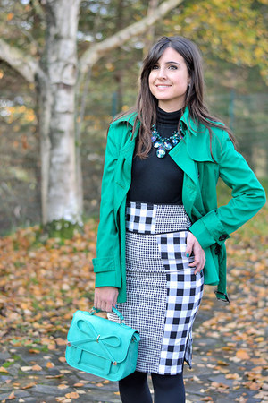 asos bag - Nasty Gal skirt - Mango jumper