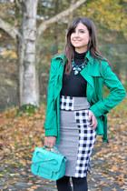 asos bag - Nasty Gal skirt - Mango jumper