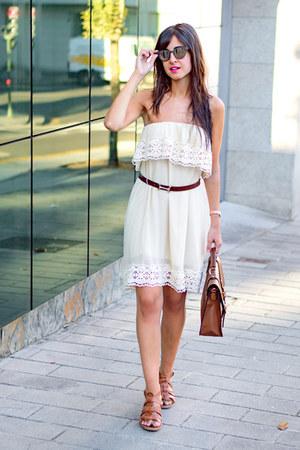 nua moda dress - bit sandals - Rodenstock glasses