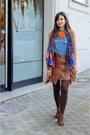 Bershka-shoes-simplemente-luna-blazer-bershka-shirt-zara-scarf