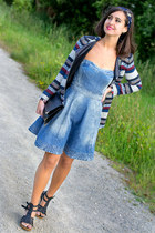 Bershka dress - Zara jacket - Primark bag
