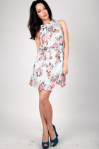 mint floral DIDD dress