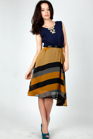 urban chic midi DIDD dress