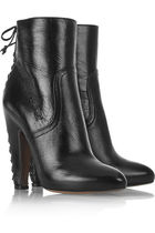 black alaia boots