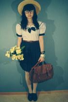 vintage dress - din sko heels