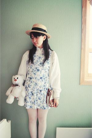 dress - bag - blouse