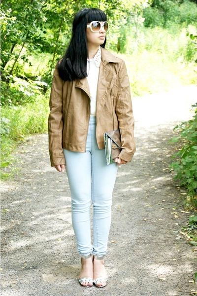 brown Primark jacket