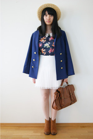 blazer - blouse - skirt