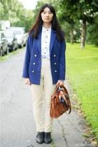 blue H&M blazer