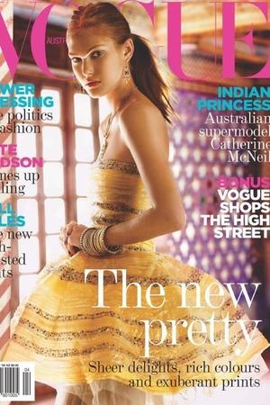 Vogue Australia: Catherine McNeil
