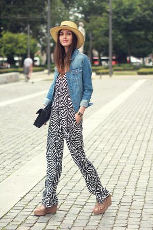Zara hat - Zara jacket - Zara bag - Zara suit