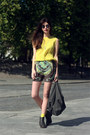 Zara-shorts-vintage-sunglasses