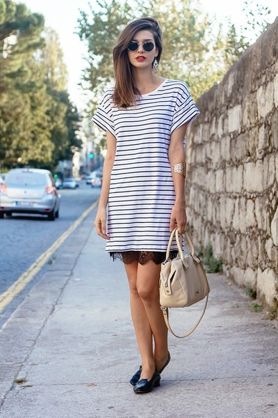 H&M dress - Bimba & Lola bag