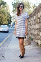 H&M dress - Bimba & Lola bag