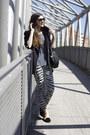 Zara-jeans-shirt-flats