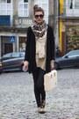 Vintage-shirt-deena-ozzy-shoes-zara-scarf-vintage-bag-zara-cardigan