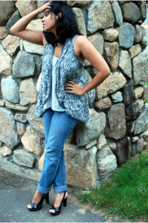 Old Navy top - Questions by Say What cardigan - Jealous 21 jeans - Target shoes
