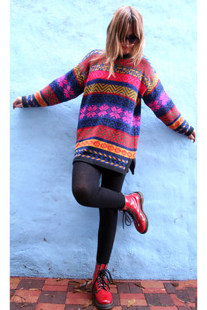 doc martens boots - SLEEPWALKER sweater