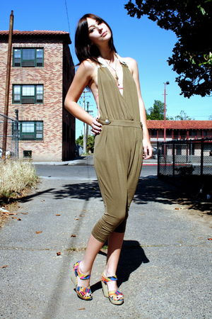 from POPKILLER suit - Cynthia Vincent shoes - American Apparel suit