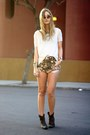 Zara-shirt-bleached-tunnel-vision-shorts-tunnel-vision-accessories