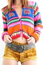 Platform-steve-madden-boots-neon-crystallized-vintage-sweater-velvet-vintage