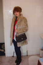 coat - American Apparel top - Topshop shoes