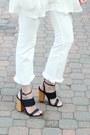White-cropped-h-m-jeans-black-cat-eye-quay-sunglasses