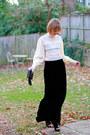 Ivory-vintage-blouse-black-vintage-skirt-black-givenchy-boots-black-topsho