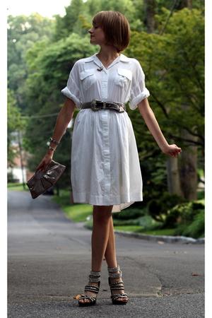 jeweler in Colorado necklace - Twenty8Twelve dress - vintage belt - Lauren Merki