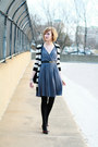 Gray-drapey-jersey-development-dress-black-young-fabulous-broke-sweater-bl