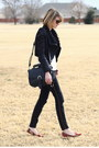Black-gold-stripe-zara-jeans-black-shearling-romwe-jacket