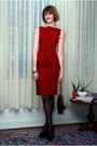 Red-rm-by-roland-mouret-dress-black-hermes-bracelet-black-chanel-purse-bla