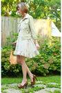 Beige-vintage-dress-brown-miu-miu-shoes-green-7-for-all-mankind-jacket-bro