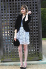 White-lace-bhldn-dress-black-velvet-j-crew-jacket