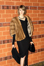 Camel-woodward-lothrop-scarf-black-rick-owens-lilies-dress-black-givenchy-