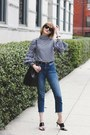 Blue-cropped-topshop-jeans-black-bucket-bag-mansur-gavriel-bag