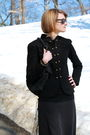 Black-la-redoute-jacket-black-illig-skirt-black-forever-21-top-black-herme